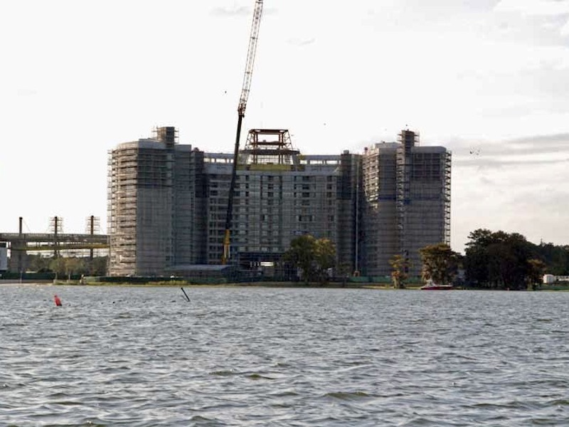 Construction progress - October 2008