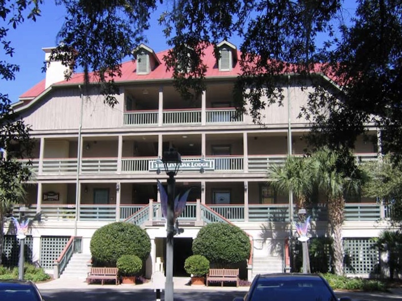 Live Oak Lodge main building