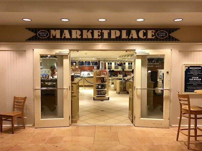 Beach Club Marketplace (Quick service dining)