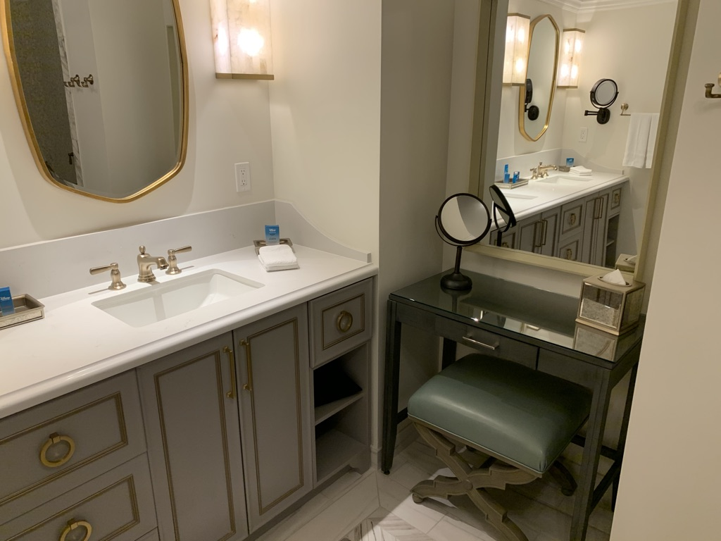 Bathroom vanity and dressing table