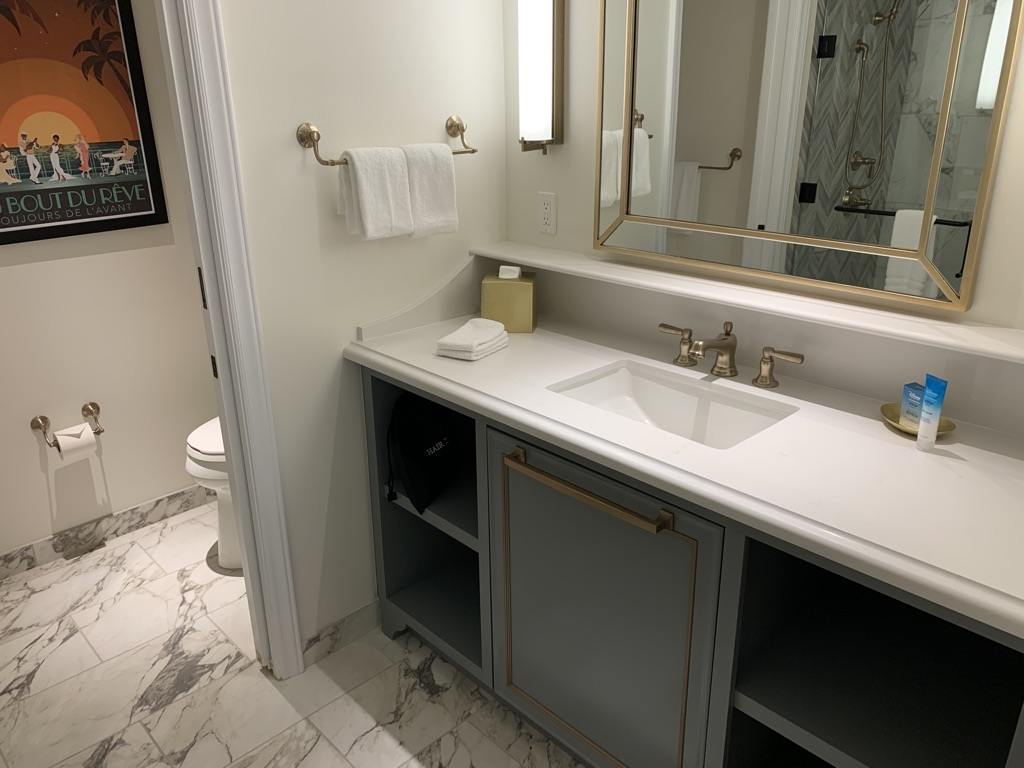 Third bathroom vanity