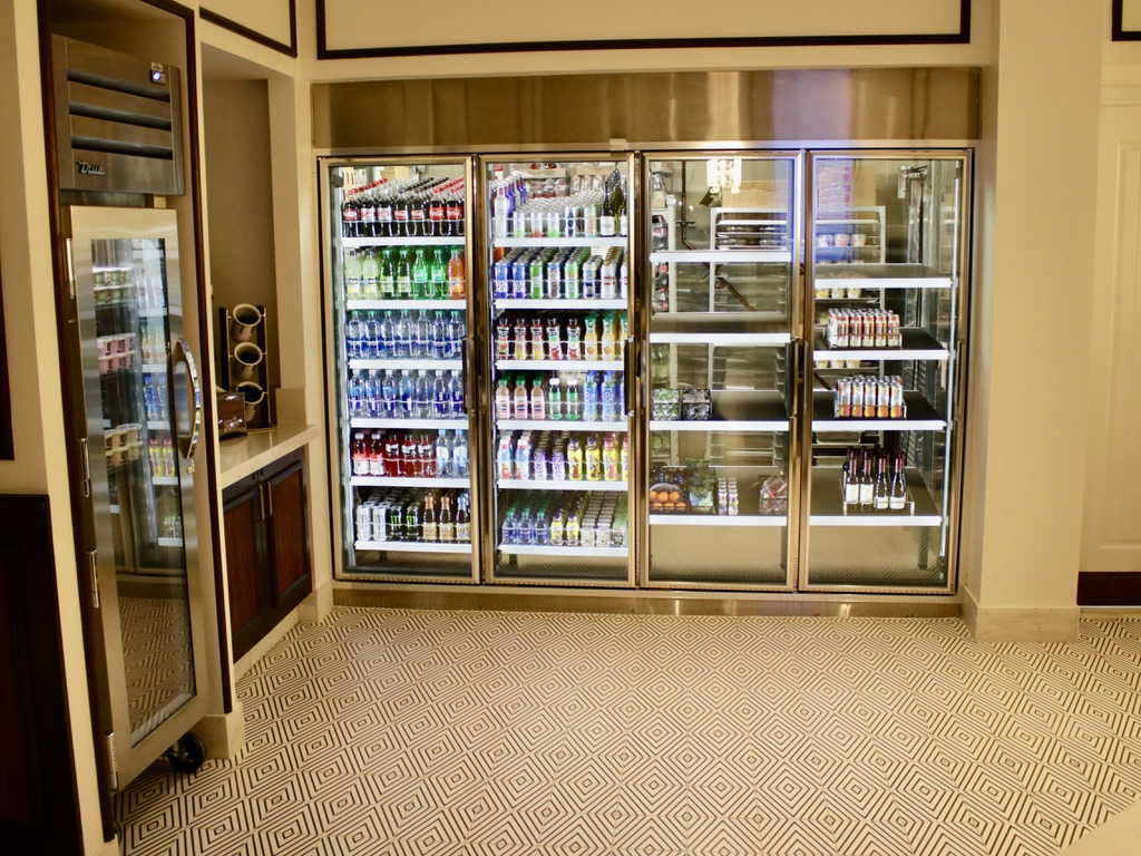 Grab-and go food & beverage coolers