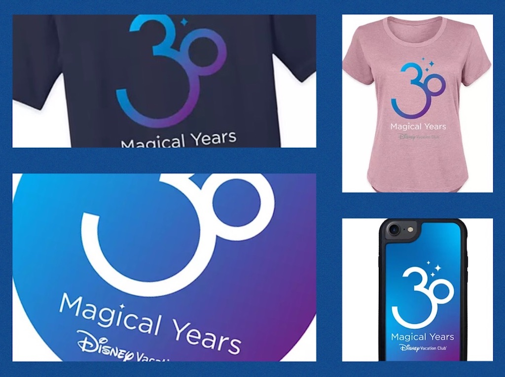 DVC 30th Anniversary Merchandise Arrives At ShopDisney