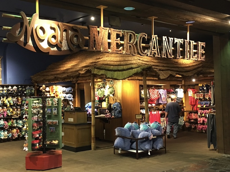 Moana Mercantile gift shop