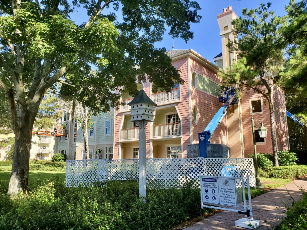 Saratoga Springs Refurbishment Begins