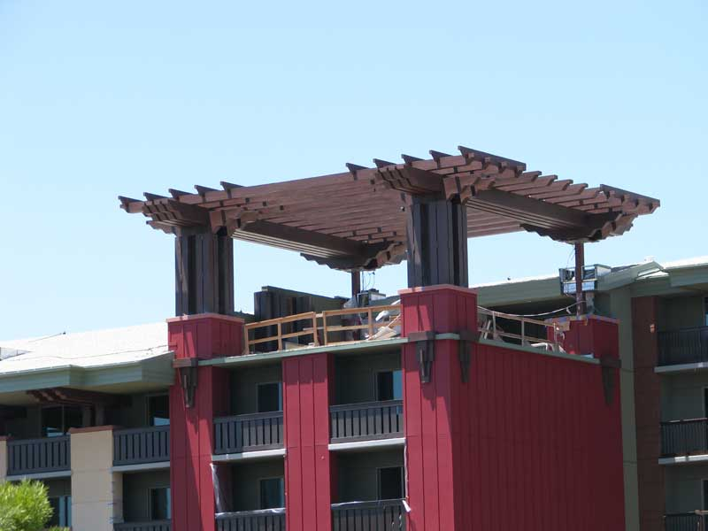 DVC villa wing construction progress